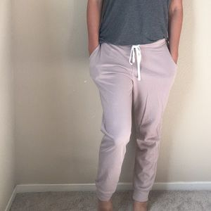 Old Navy dusty rose lounge pants